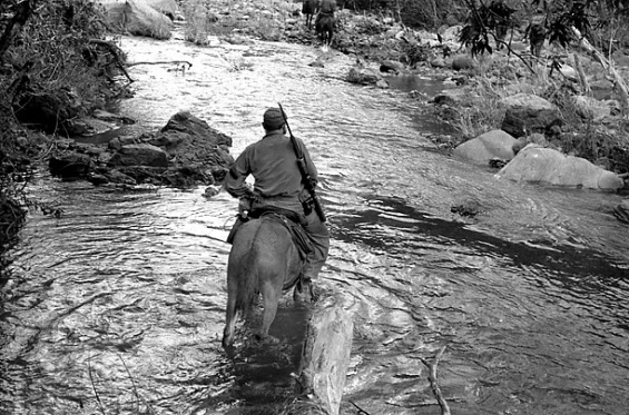 Castro Crossing River