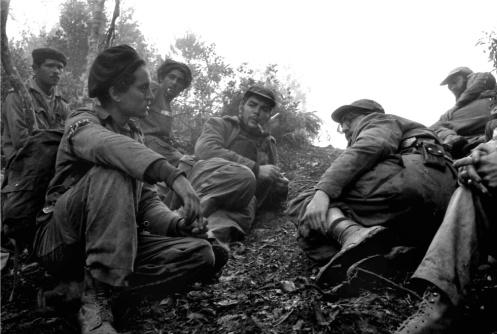 Enrique Meneses - El Che Guevara, Fidel Castro y Camilo Cienfuegos